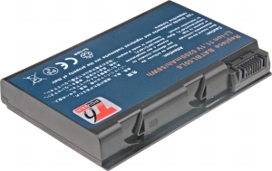 Baterie T6 power Acer Aspire 3100, 5100, 5110, 5610, TravelMate 2490, 4200, 4280, 6cell, 5200mAh NBAC0034